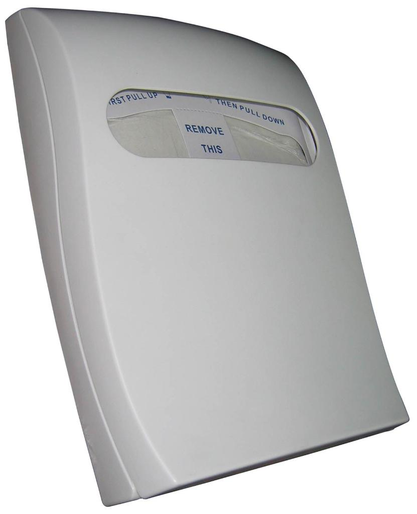 1/4 Plastic Toilet Seat Cover Dispenser 1