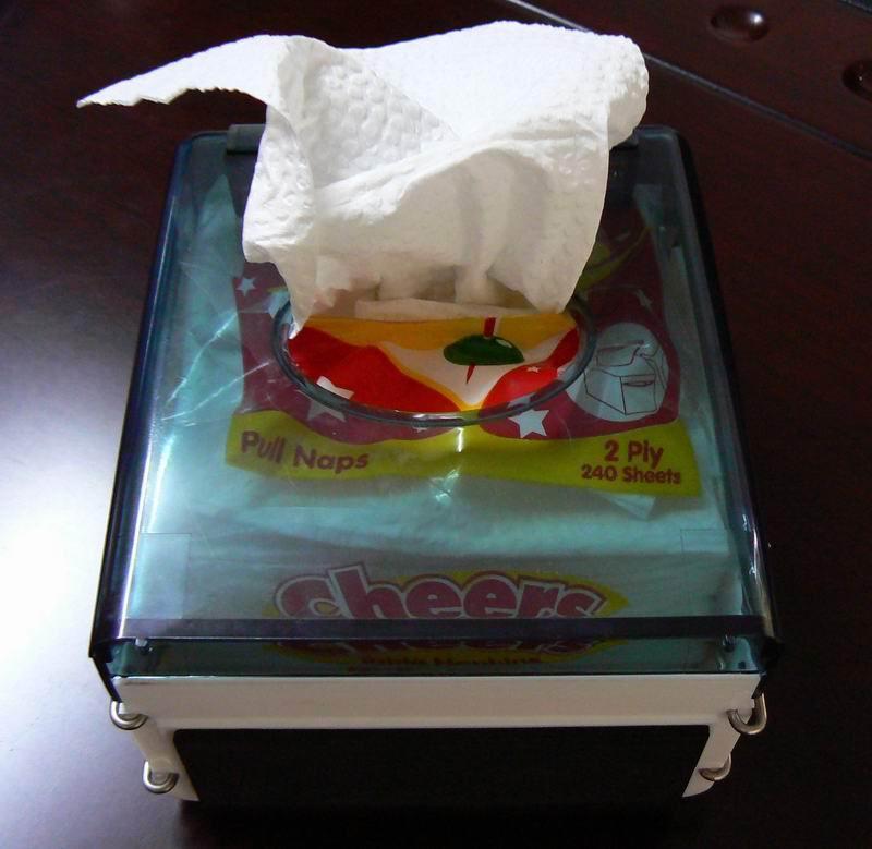 Table Napkin Tissue Dispenser 1