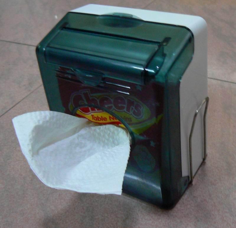 WCS-6830B Table Napkin Tissue Dispenser 2