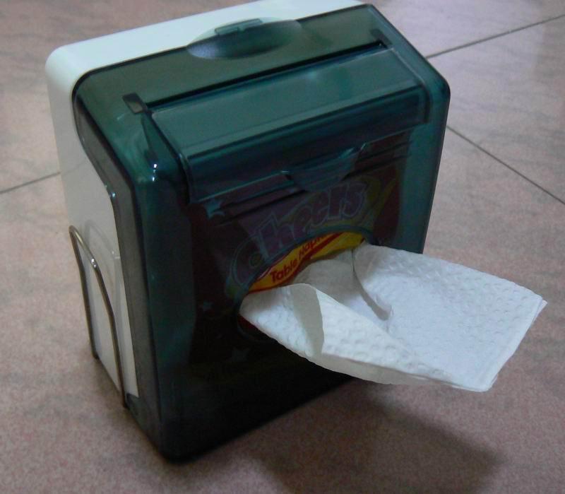 Wcs 6830b table napkin tissue dispenser china - Serviette table tissu ...