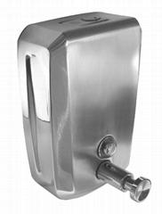 不锈钢皂液器J-09