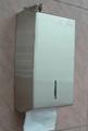 Stainless Steel Twin Pack Tissue Dispenser J-402FS 3