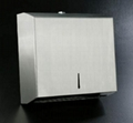 Stainless Steel C&M Fold Paper Towel Dispenser 3
