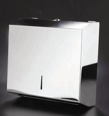 Stainless Steel C&M Fold Paper Towel Dispenser 4