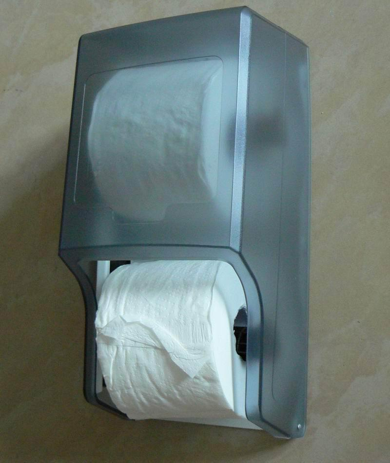 Twin Roll Toilet Tissue Dispenser WCS-402RS 1