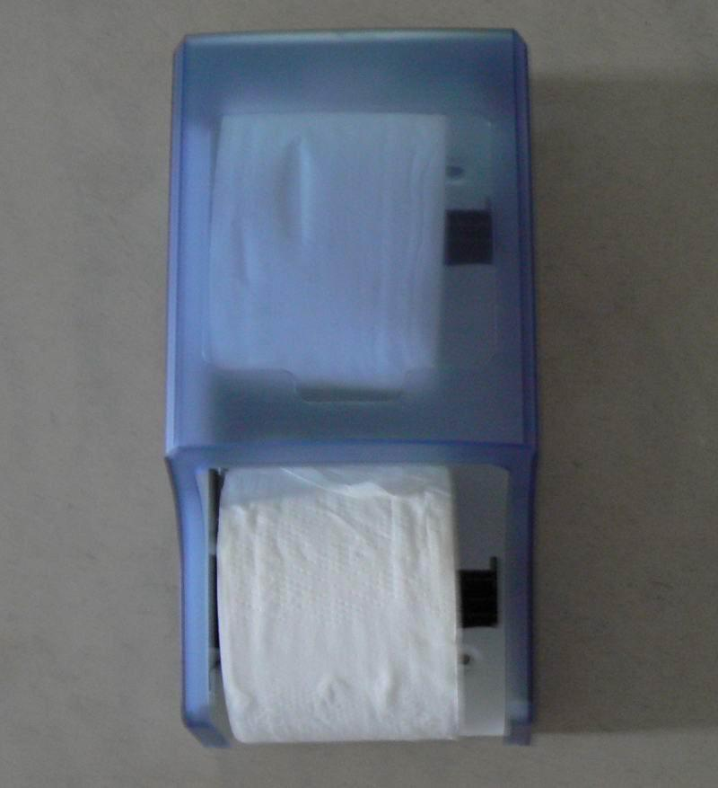 Twin Roll Toilet Tissue Dispenser WCS-402RS 5