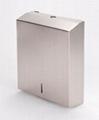 Stainless C&M Fold Paper Towel Dispenser