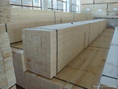 包装箱用杨木LVL免熏蒸木方