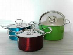 三件套不鏽鋼湯鍋