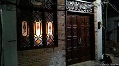 西關大屋特色高級實木花格鑲嵌進口透光性好滿洲窗