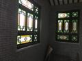 实木原色玻璃搭配精美家居仿古满