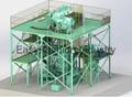 Vacuum gas atomization powder