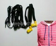 headphone hoodie buddie with earphones machine washable