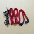 hoodie built-in MP3 headphones  washable headphones drawcord 1