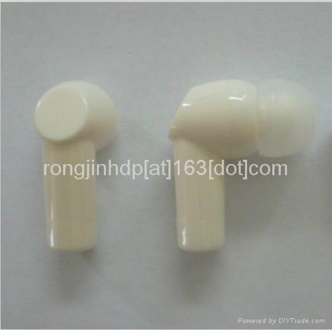2013 new hot sell garment collar headphones washable earphoens waterproof  3