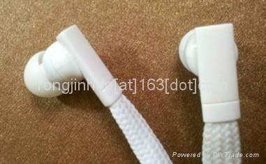 2013 new hot sell garment collar headphones washable earphoens waterproof  4