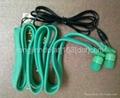 2013 new hot sell garment collar headphones washable earphoens waterproof  5