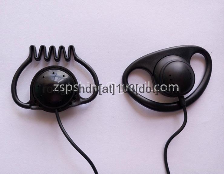 Professional Ear Hook Earphone Meeting Monitar headphone with 3.5mm Stereo Jack  2