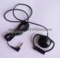 Professional Ear Hook Earphone Meeting Monitar headphone with 3.5mm Stereo Jack  3