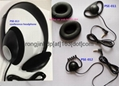 Conference stereo headphone lightweight