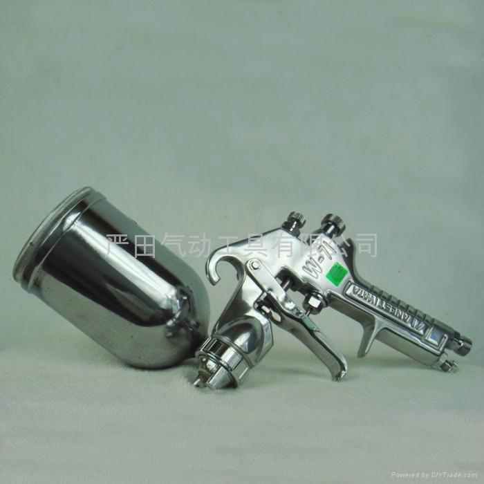 供應日本岩田噴槍W-71上壺噴漆槍|汽車、傢具、裝潢面漆噴槍 1