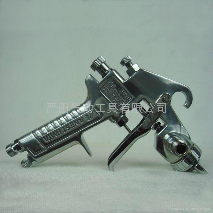 供應日本岩田噴槍W-71上壺噴漆槍|汽車、傢具、裝潢面漆噴槍 4