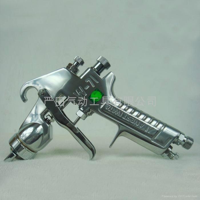 供應日本岩田噴槍W-71上壺噴漆槍|汽車、傢具、裝潢面漆噴槍 5