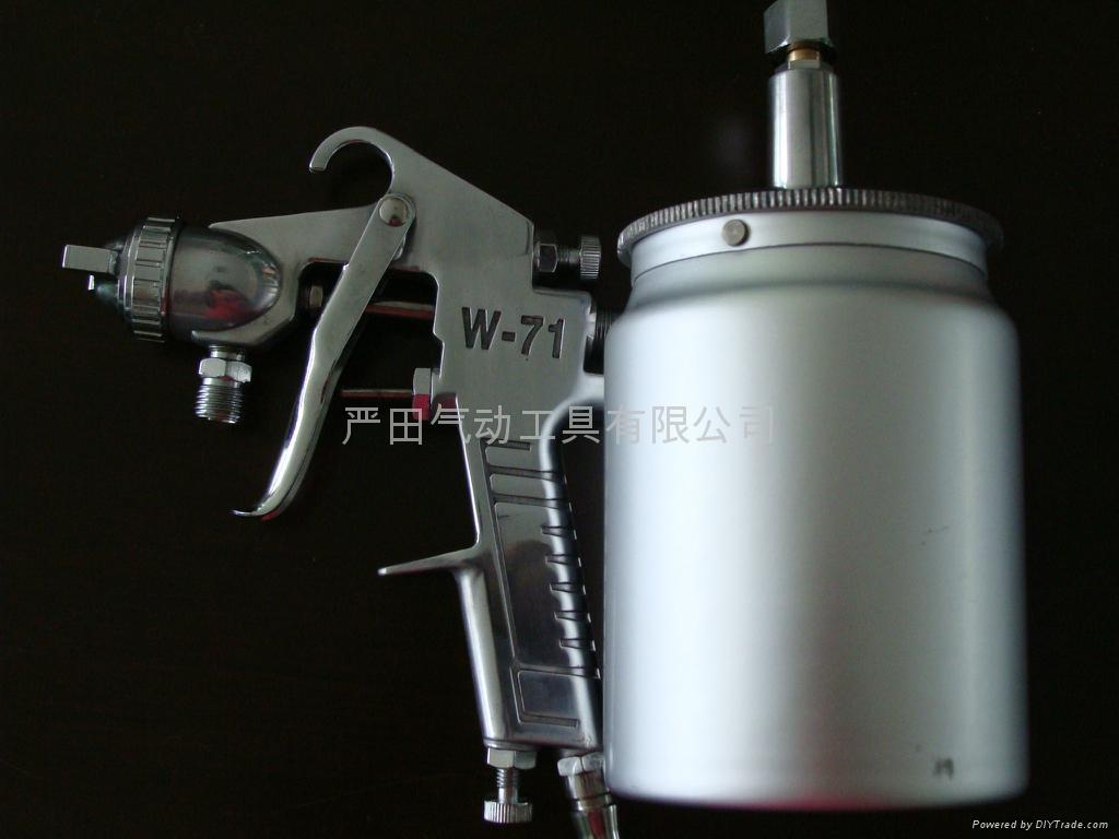 廠家直銷W-71噴漆槍 面漆噴槍 塗料噴槍 汽車油漆噴槍 1