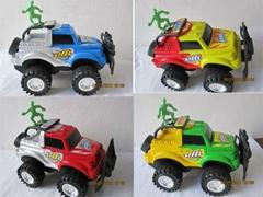 惯性沙滩越野车玩具