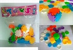 小拼魔方块拼图拼板DIY玩具