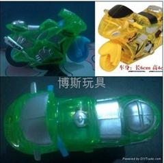 火石惯性摩托车玩具