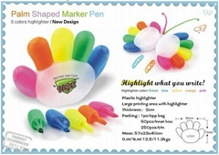 hand shaped highlighter  pen