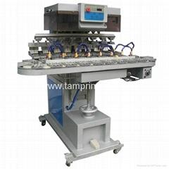 TM- C8  8-Colour Conveyor Ink cup Pad Printer