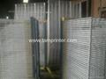 TM-50DG galvanized 50 Layers Screen Printing Drying Racks 7