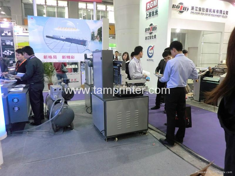 double-servo precision screen printing machine with ink drip prevention system 5