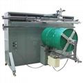 轉盤非標大型油桶圓面絲印機
