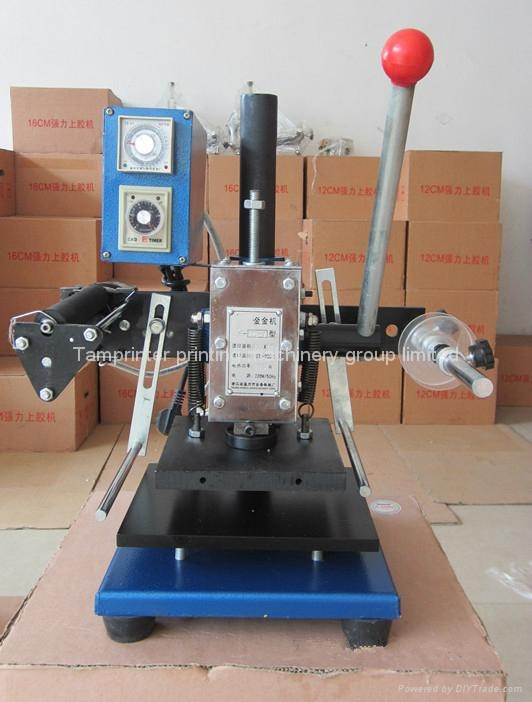 TAM-170-1 Semiautomatic Hot stamping Machine 5