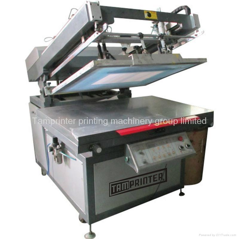 Basket Making Supplies Massachusetts : Tmp oblique arm type semi automatic screen printer