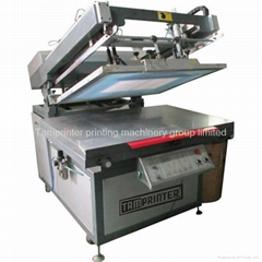semi Clamshell Screen Printing Machine