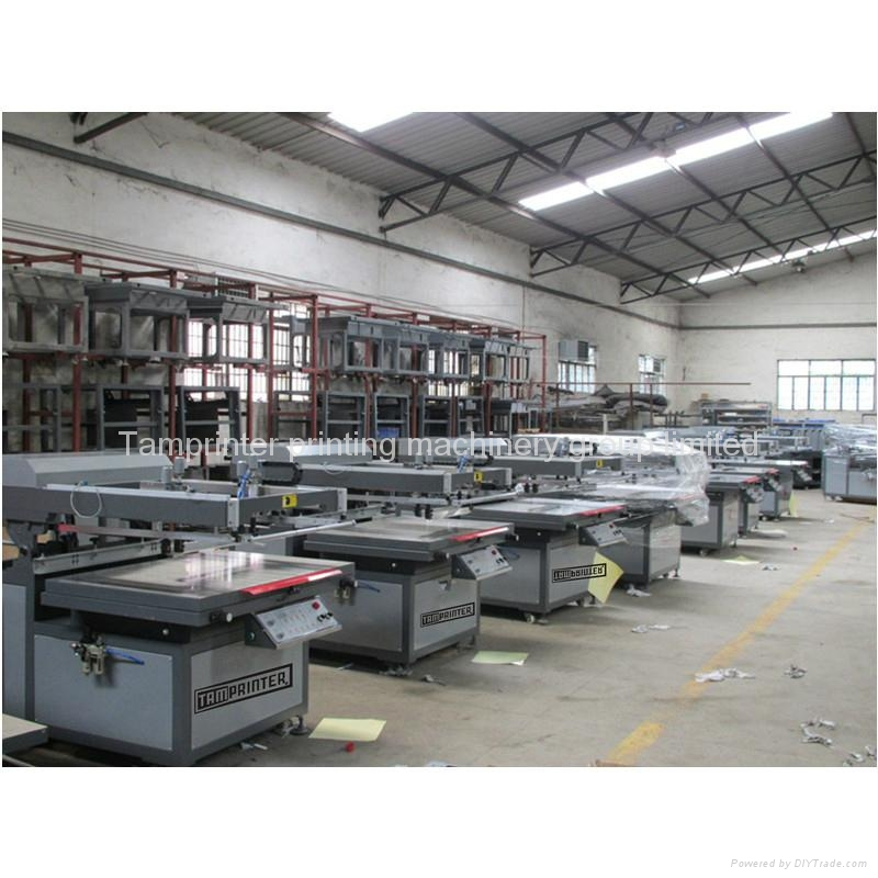 Vinyl semi Clamshell Screen Printing Machine 6