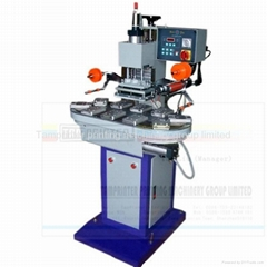 Carousel continuous hot stamping machine