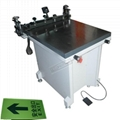 Manual Glass vacuum table silk screen