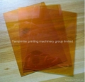 Hot stamping Water Washout Polymer cliches plate