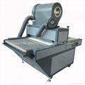 Automatic glitter powder spill machine
