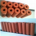 heat transfer Silicone Roller
