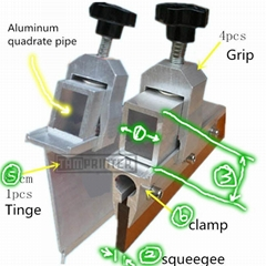 squeegee clamp kit