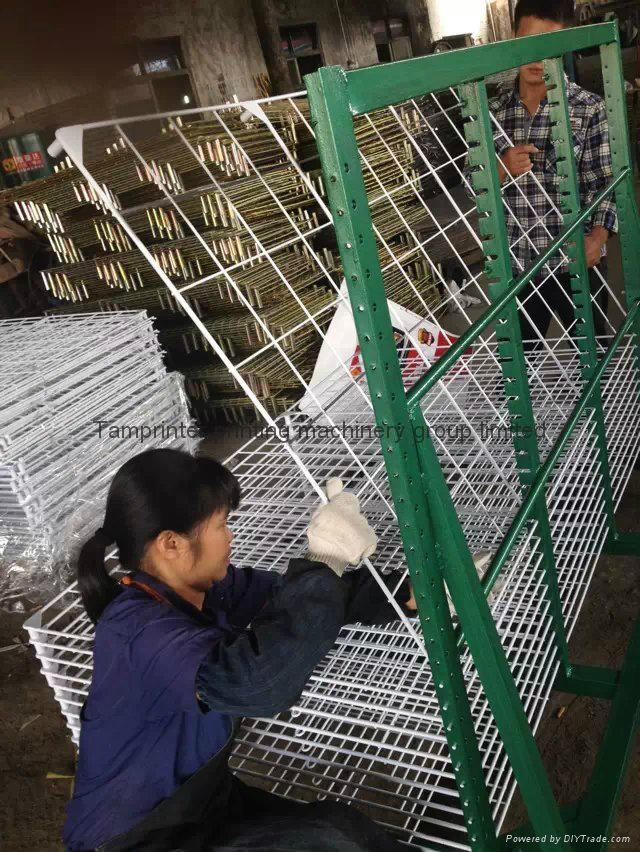 TM-50DG galvanized 50 Layers Screen Printing Drying Racks 6