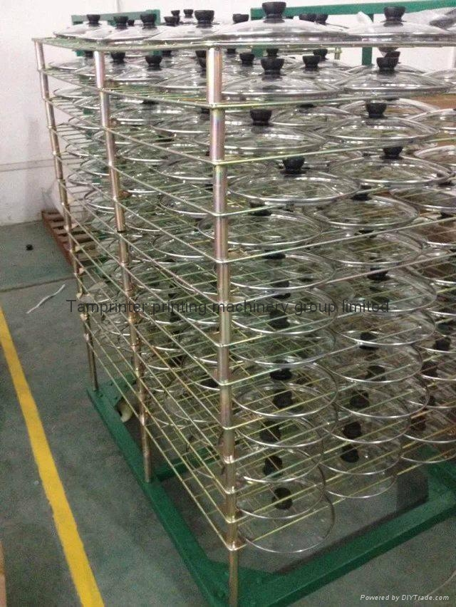 TM-50DG galvanized 50 Layers Screen Printing Drying Racks 8