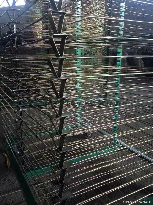 TM-50DG galvanized 50 Layers Screen Printing Drying Racks 9