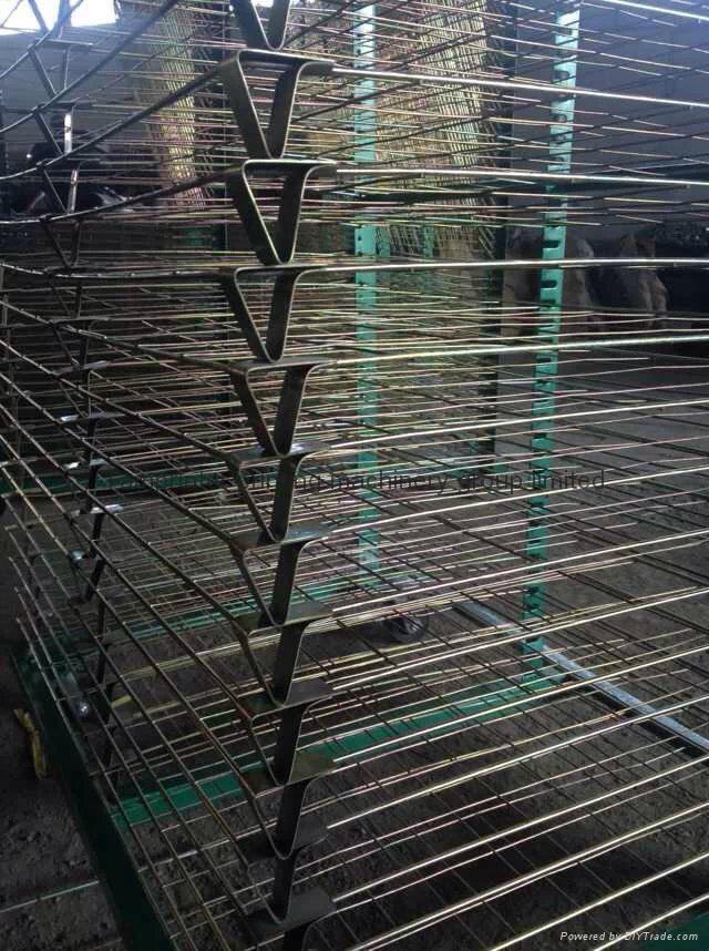 TM-50DG galvanized 50 Layers Screen Printing Drying Racks 11